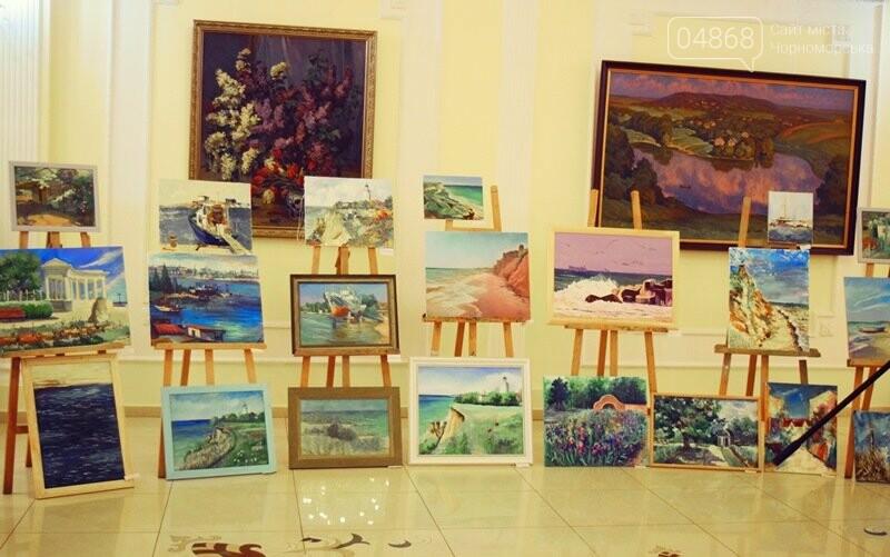 Художники Украины и США рисовали Черноморск, фото-19