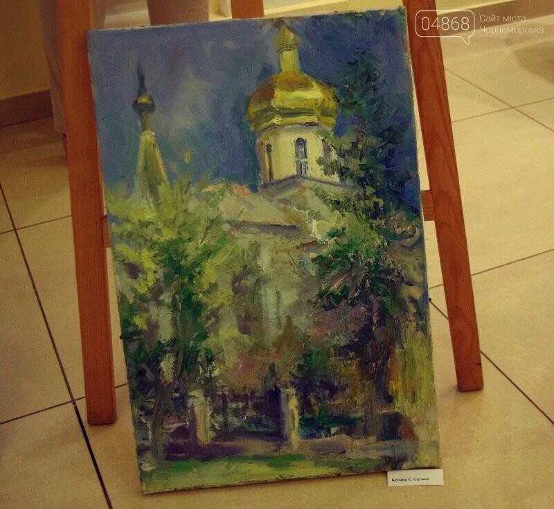 Художники Украины и США рисовали Черноморск, фото-22