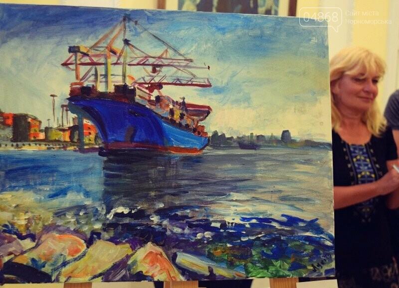 Художники Украины и США рисовали Черноморск, фото-23