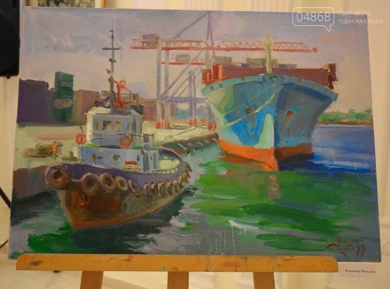 Художники Украины и США рисовали Черноморск, фото-7