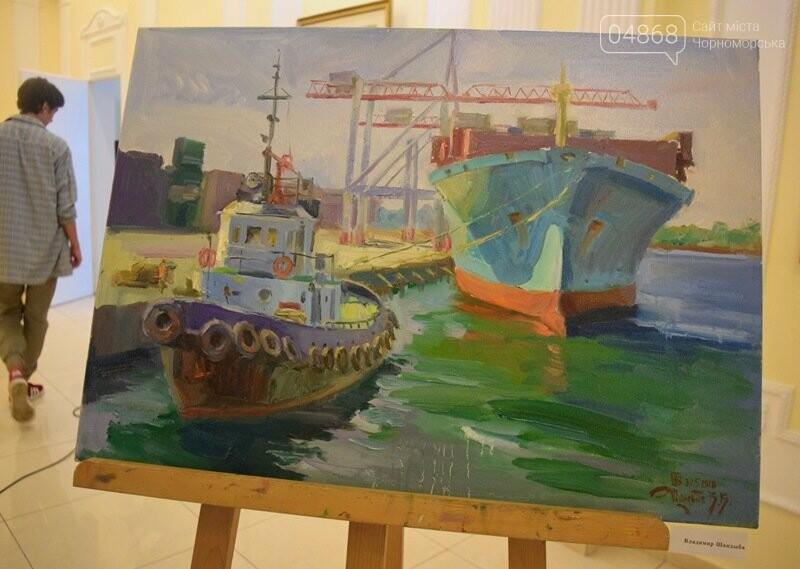 Художники Украины и США рисовали Черноморск, фото-25