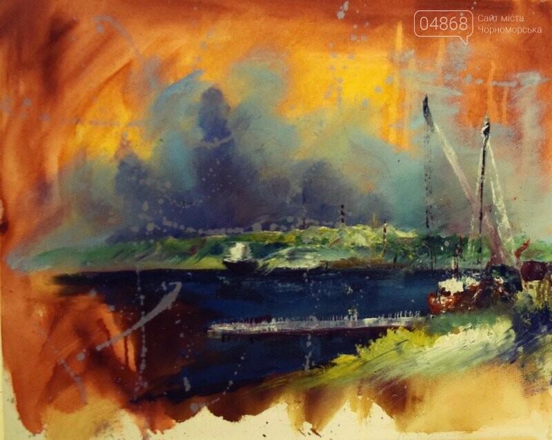 Художники Украины и США рисовали Черноморск, фото-27