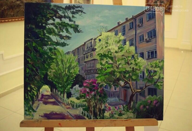 Художники Украины и США рисовали Черноморск, фото-29