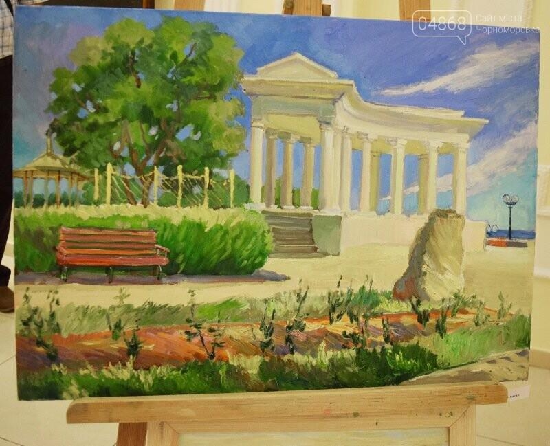 Художники Украины и США рисовали Черноморск, фото-3