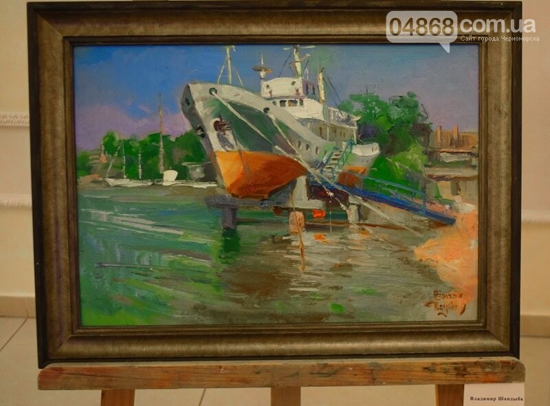 Художники Украины и США рисовали Черноморск, фото-10