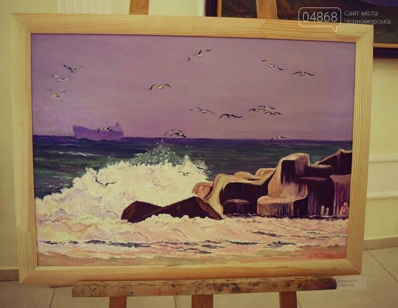 Художники Украины и США рисовали Черноморск, фото-11
