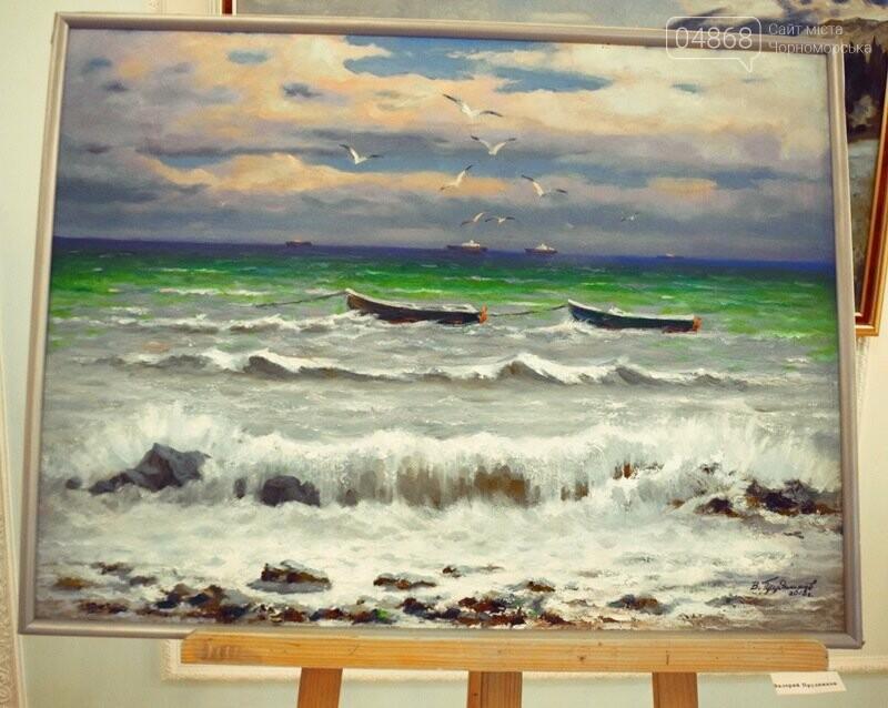 Художники Украины и США рисовали Черноморск, фото-13