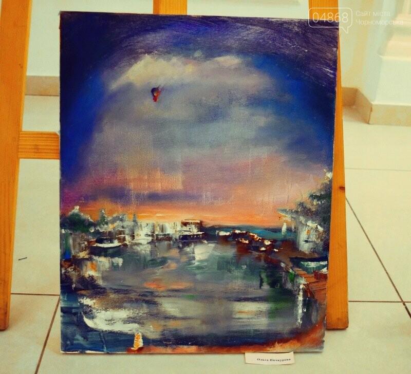 Художники Украины и США рисовали Черноморск, фото-14