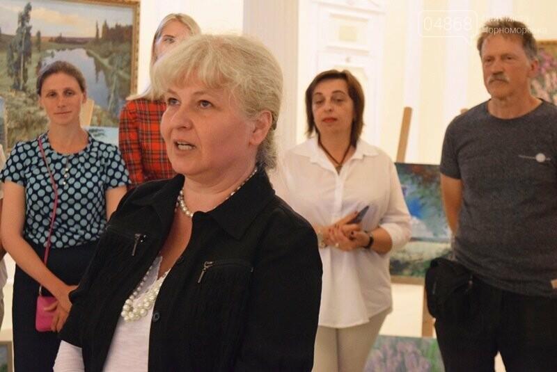Художники Украины и США рисовали Черноморск, фото-15
