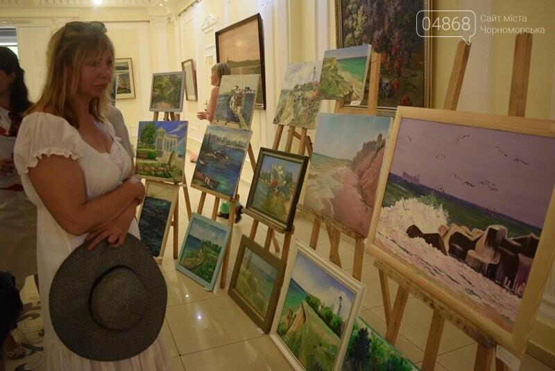 Художники Украины и США рисовали Черноморск, фото-8