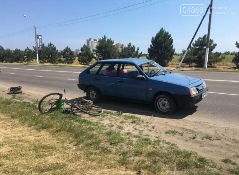 ДТП на пятиминутке: водитель ВАЗа сбил велосипедиста, фото-1