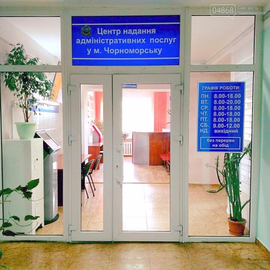 Свыше 250 услуг можно получить в админцентре Черноморска, фото-1