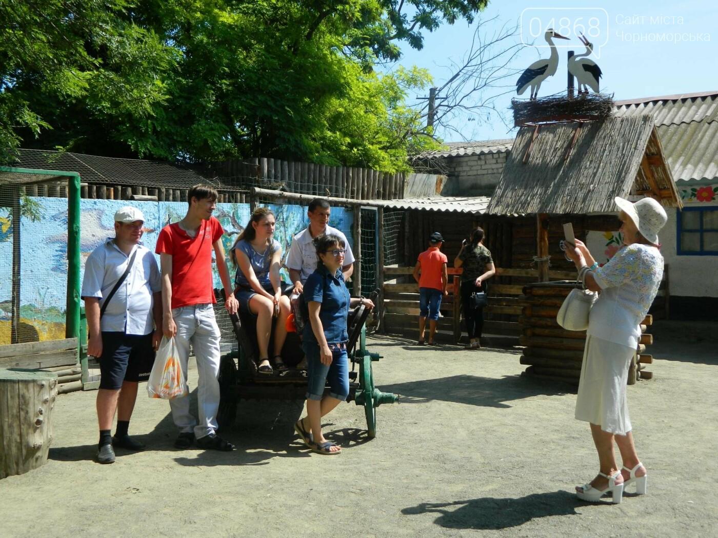 Дети из реабилитационного центра «Радуга» посетили зоопарк, фото-12