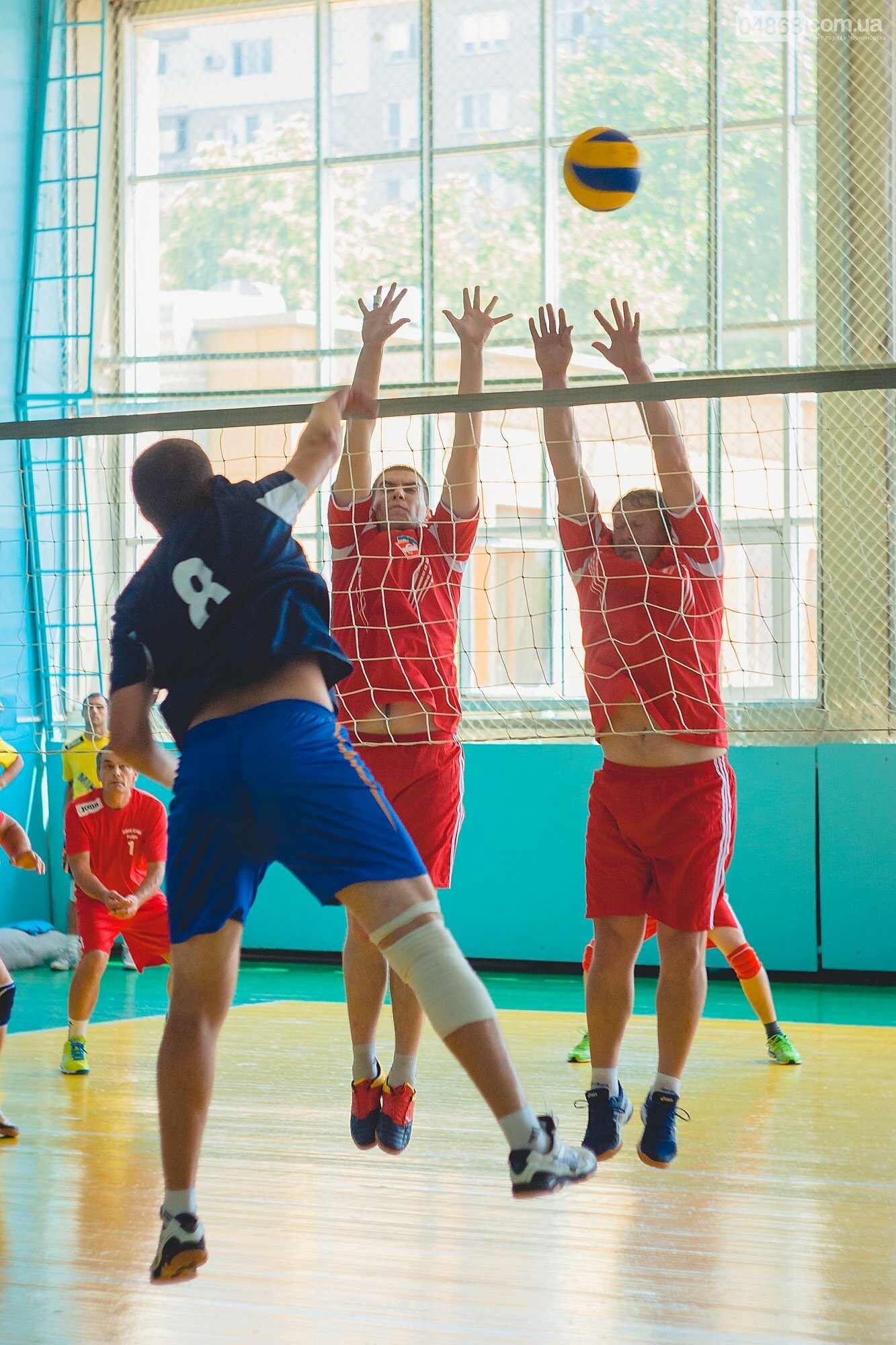 Сборная Одесской области обыграла сборную Харьковской в депутатской спартакиаде по волейболу, фото-11
