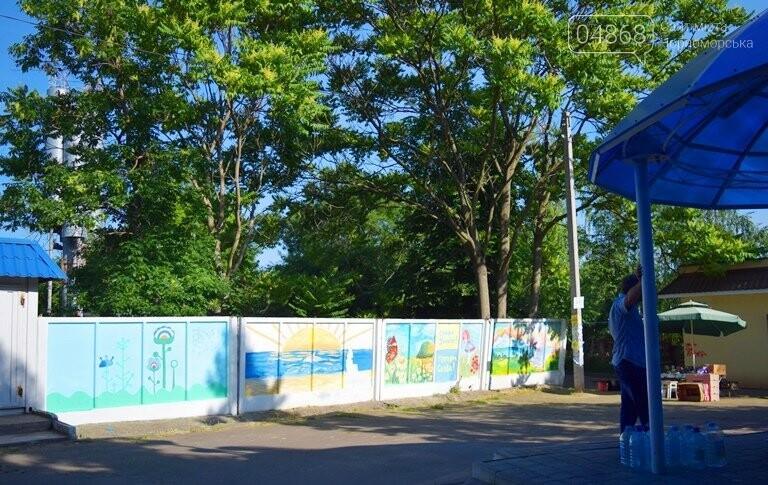 «Рисуем с любовью вместе»: Водоканал Черноморска вместе с маленькими жителями города прововодит акцию «Укрась свой город», фото-8