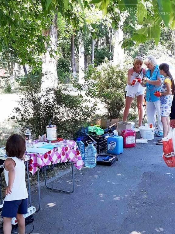 «Рисуем с любовью вместе»: Водоканал Черноморска вместе с маленькими жителями города прововодит акцию «Укрась свой город», фото-5