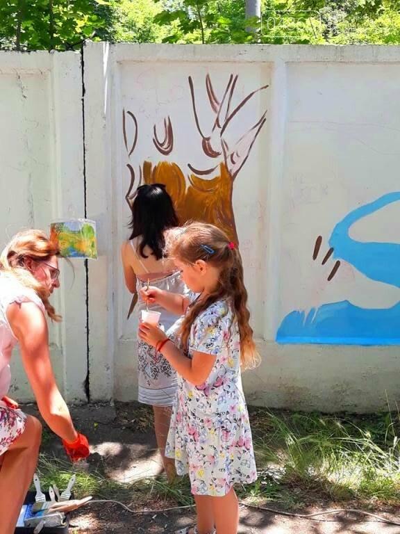 «Рисуем с любовью вместе»: Водоканал Черноморска вместе с маленькими жителями города прововодит акцию «Укрась свой город», фото-1