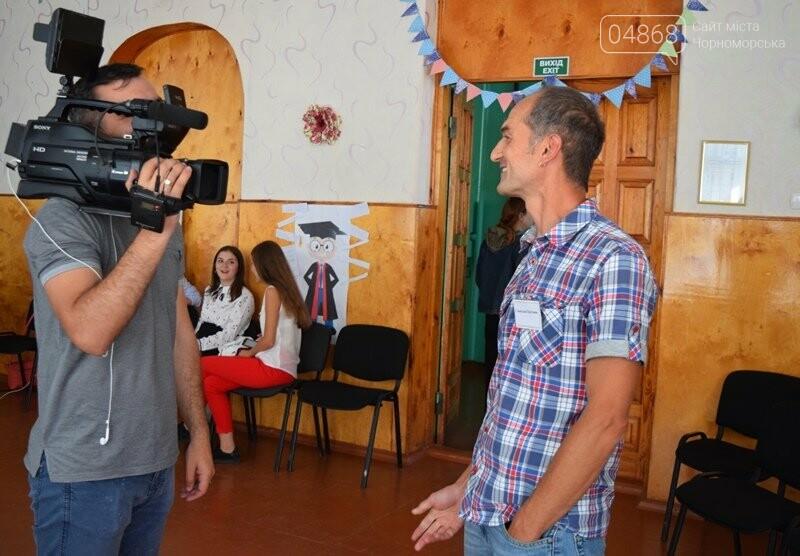 «Медиа-десант»: в Черноморск забросили 15 журналистов из разных городов Украины, фото-10