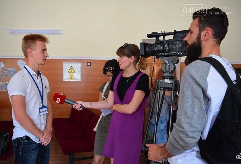 «Медиа-десант»: в Черноморск забросили 15 журналистов из разных городов Украины, фото-2