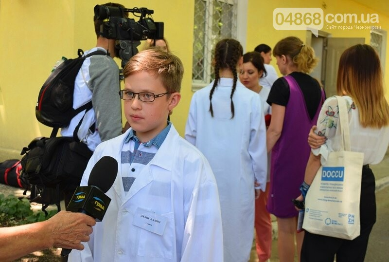 «Медиа-десант»: в Черноморск забросили 15 журналистов из разных городов Украины, фото-6