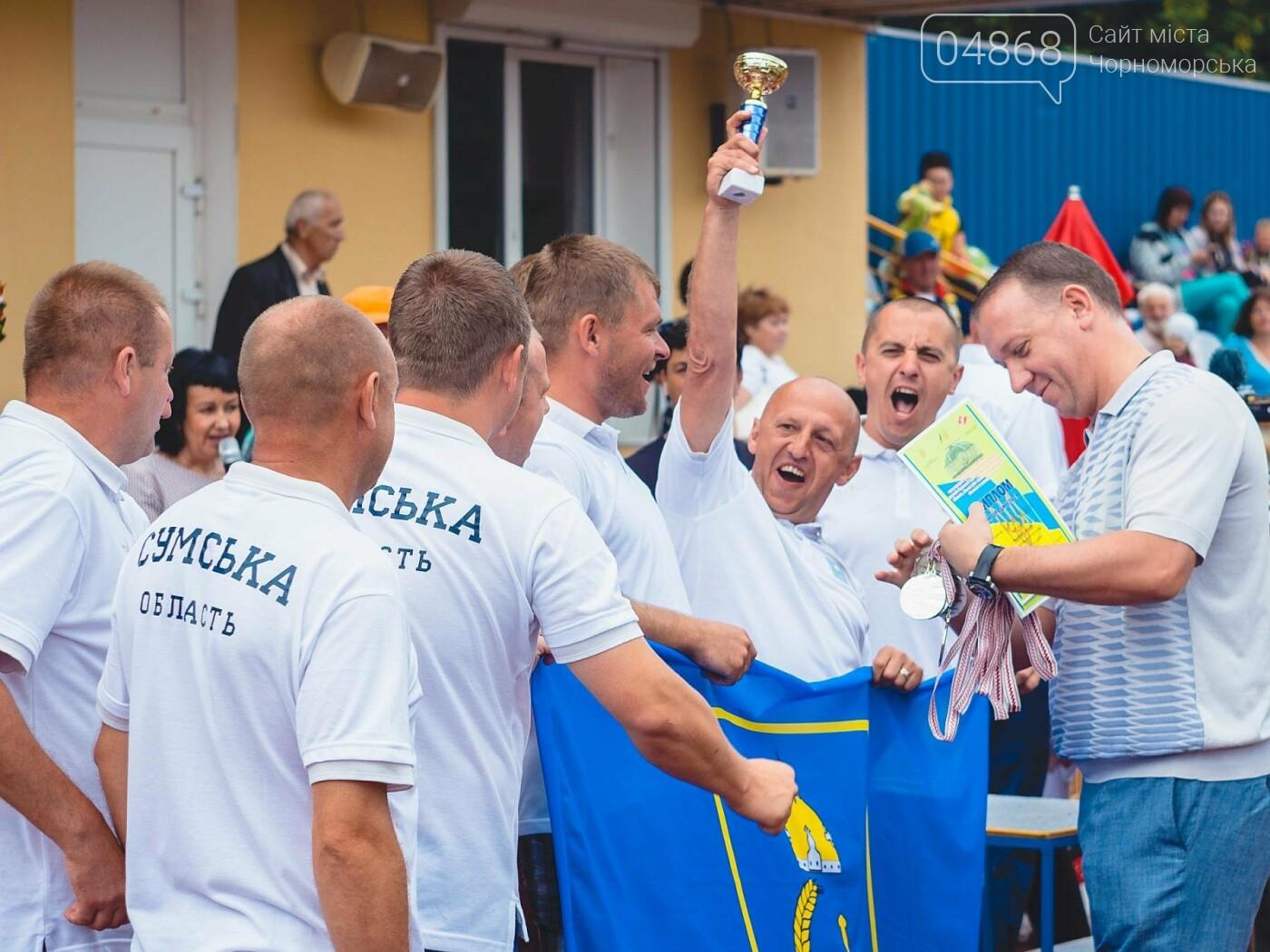 В Черноморске завершилась VII Всеукраинская спартакиада среди депутатов, фото-7