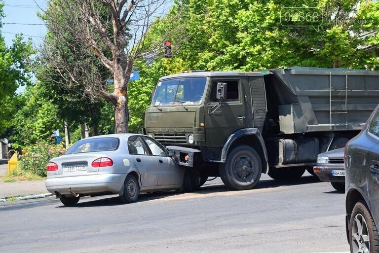 ДТП В Черноморске: Daewoo залетел под КамАЗ, фото-6