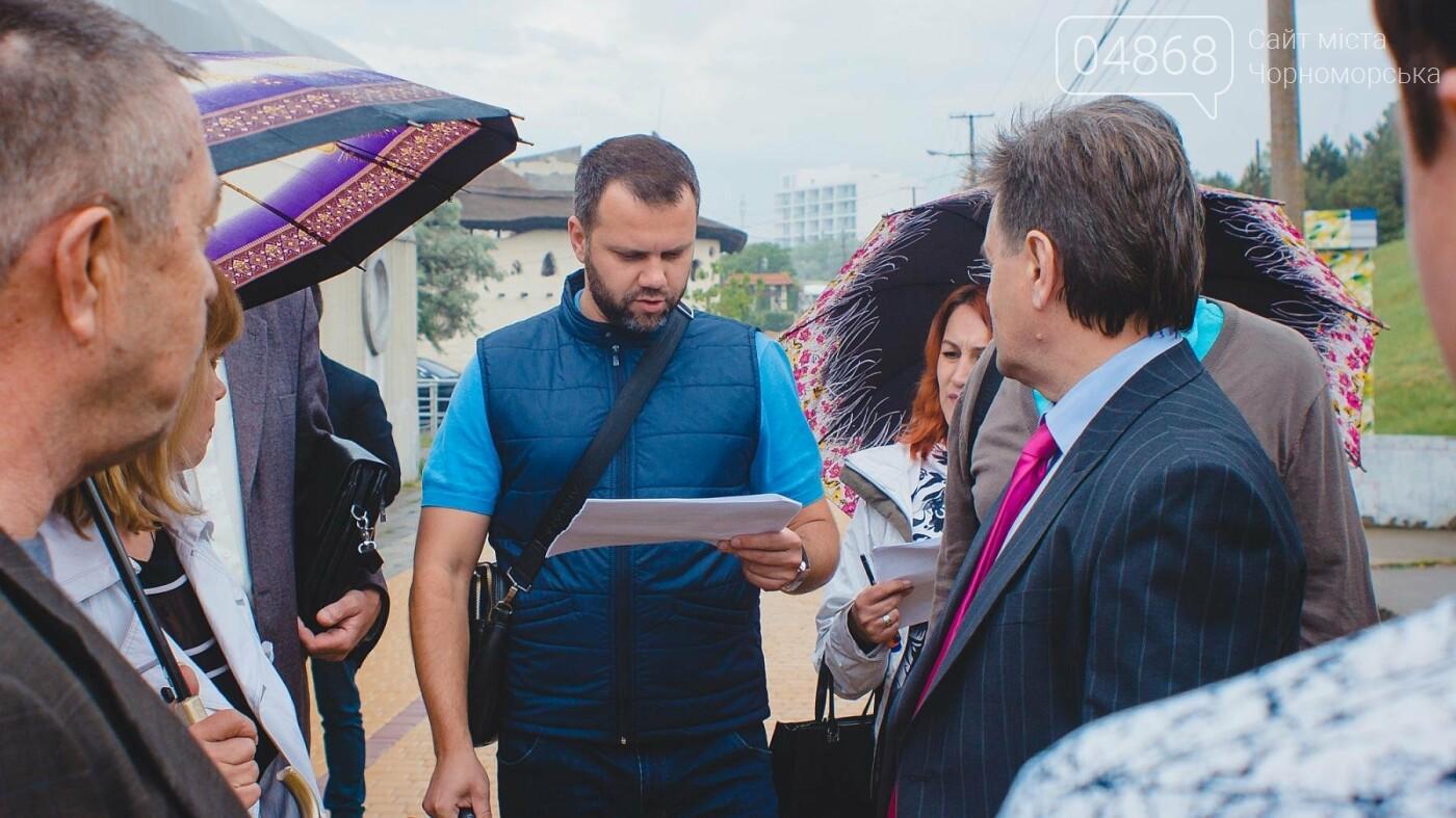 Незаконные торговые точки будут демонтированы с пляжа Черноморска , фото-8