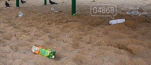 Песок на Центральном пляже Черноморска ежедневно чистят и просеивают, фото-4