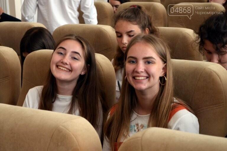 В Черноморске в пятый раз стартовал Лагерь лидеров, фото-1