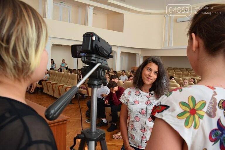 В Черноморске в пятый раз стартовал Лагерь лидеров, фото-10