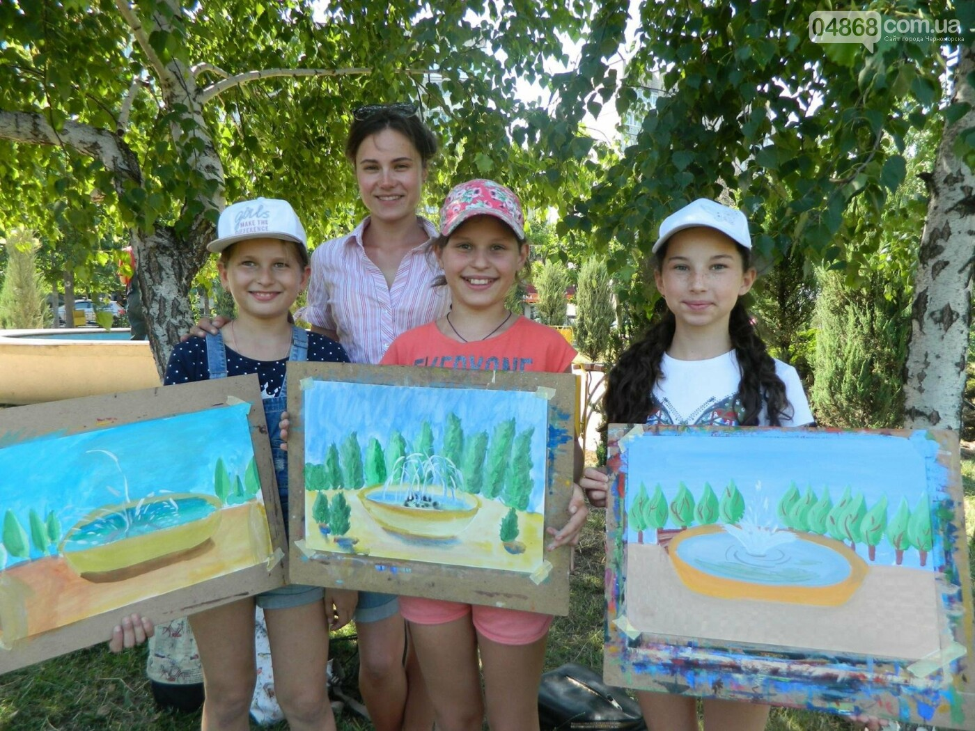 Маленькая «Кисточка» рисует Черноморск, фото-1