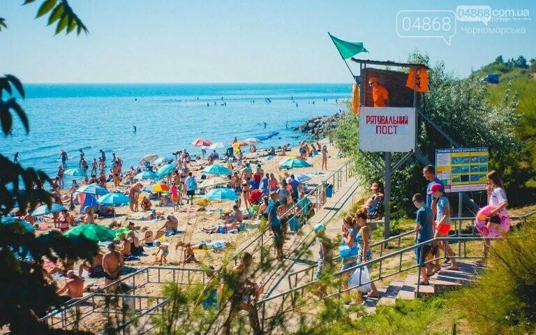 На городском пляже Черноморска теперь есть своя полиция, фото-2