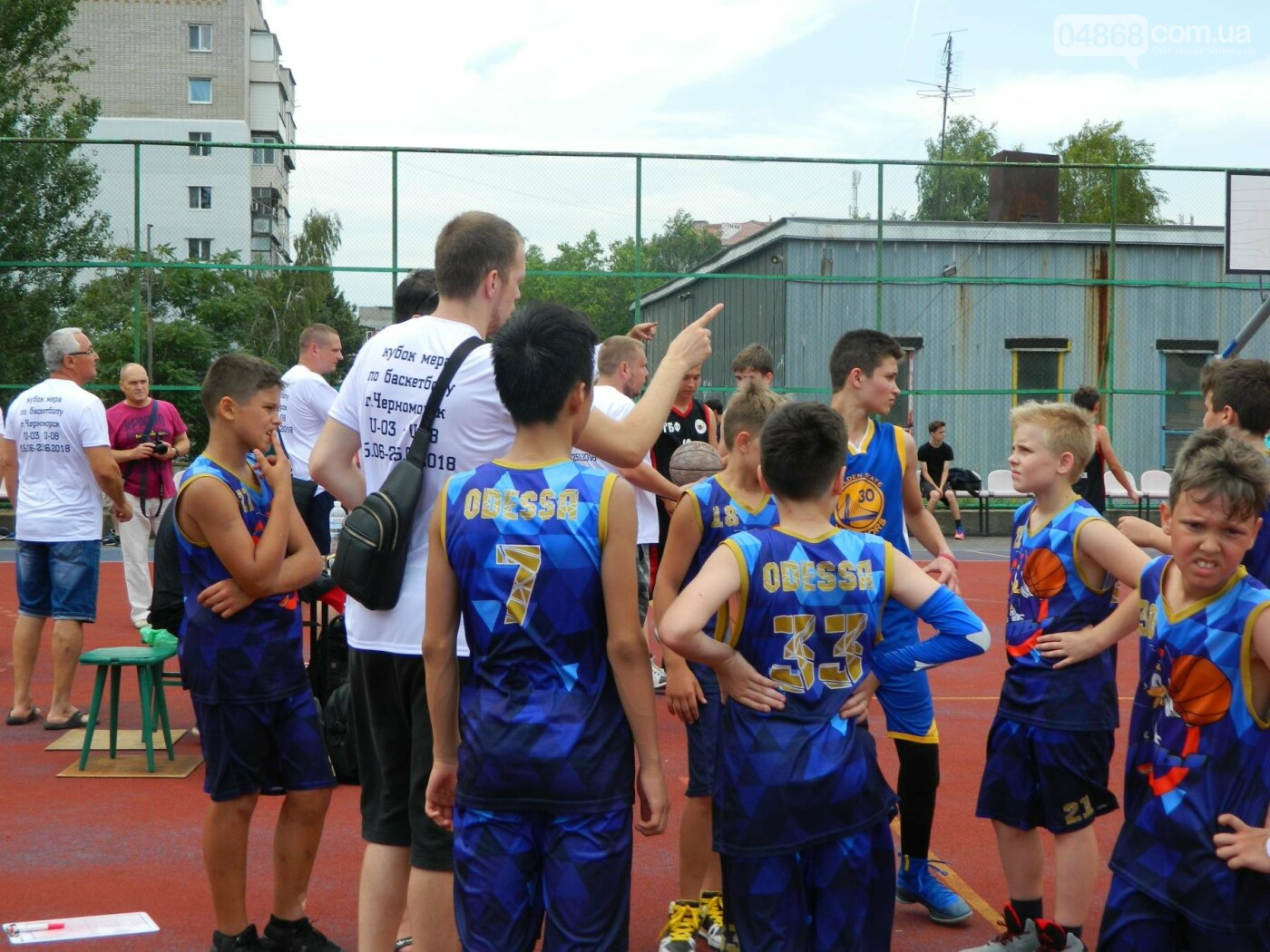 Баскетболу в Черноморске - «В добрый час!», фото-3