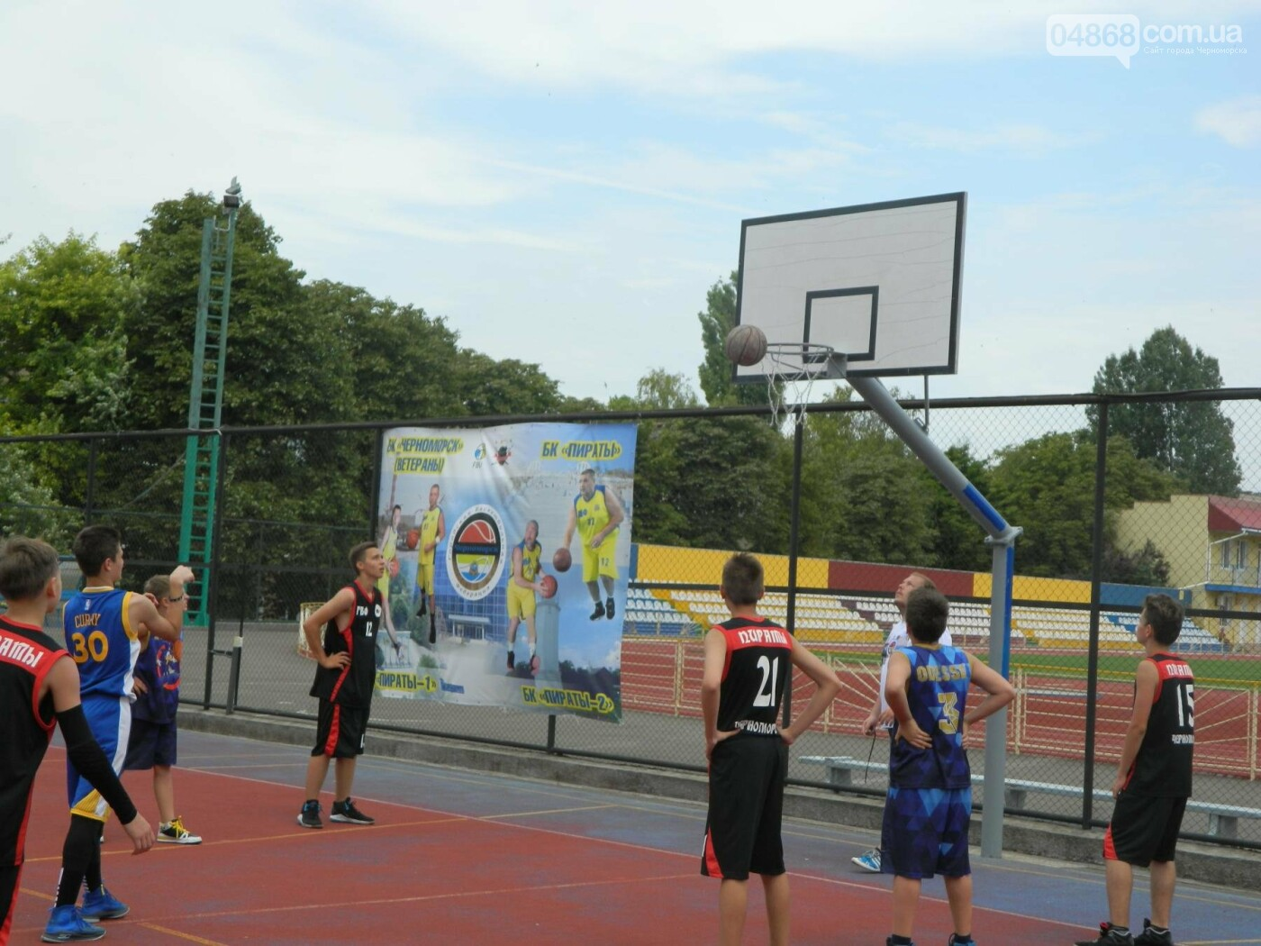 Баскетболу в Черноморске - «В добрый час!», фото-5