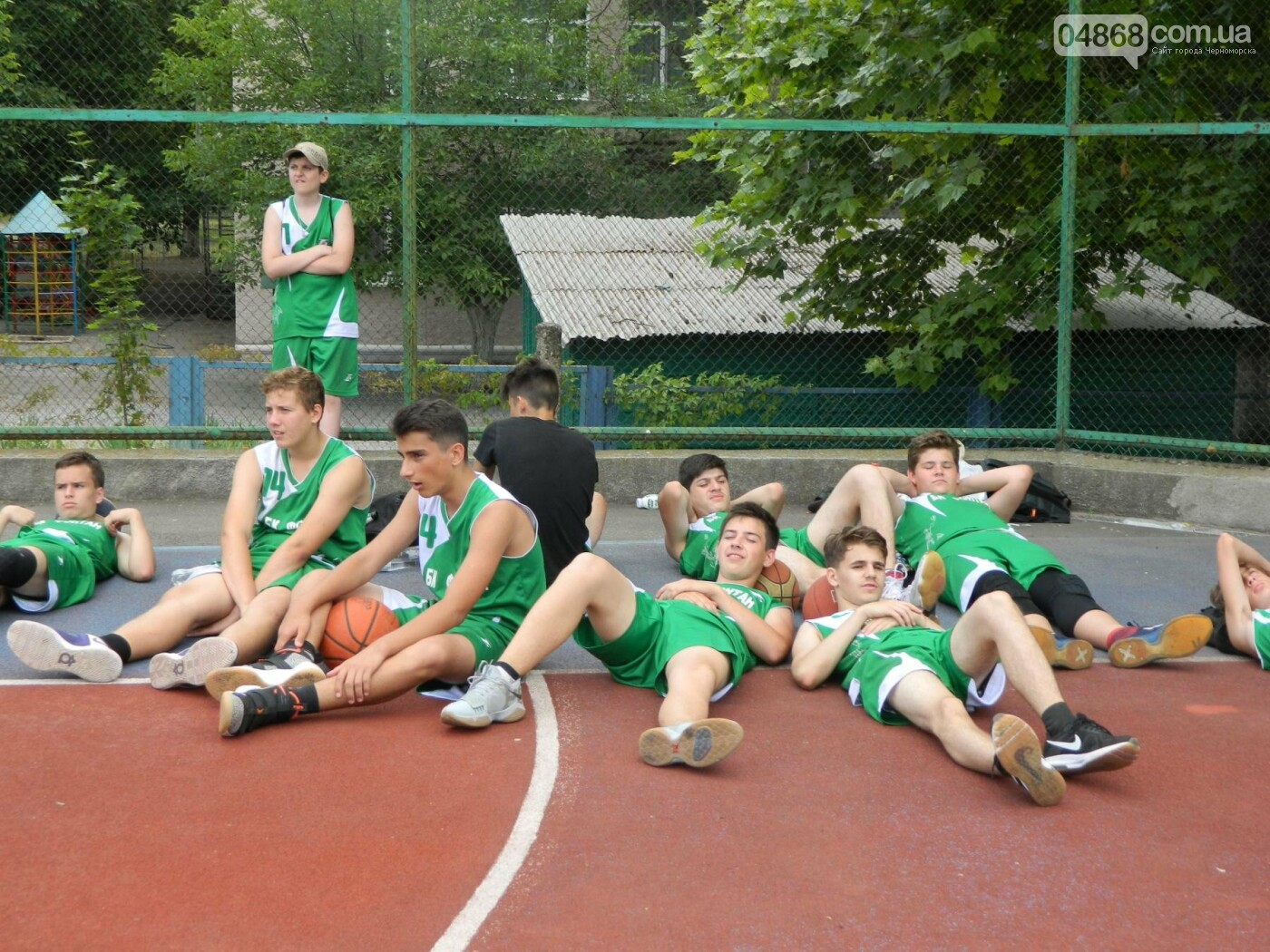 Баскетболу в Черноморске - «В добрый час!», фото-8