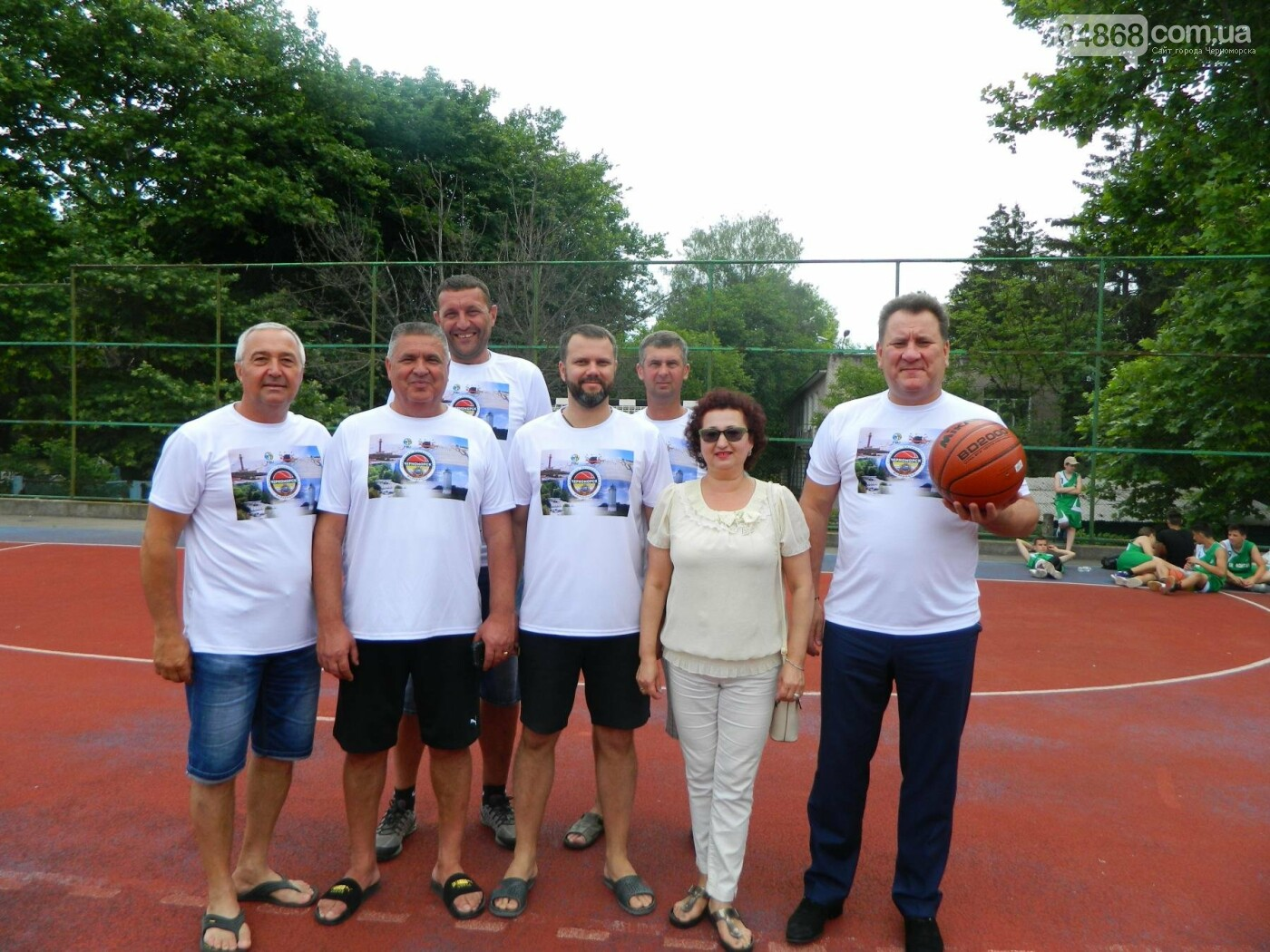 Баскетболу в Черноморске - «В добрый час!», фото-1