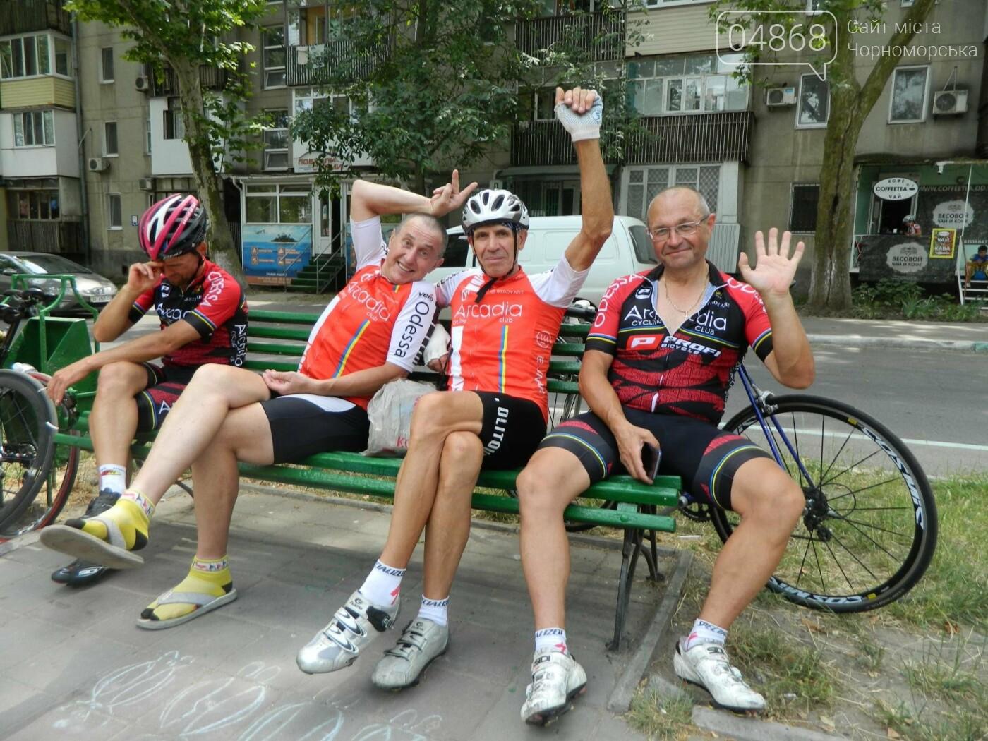 """Черноморский велоклуб """"Гелиос"""" принимает гостей, фото-11"""