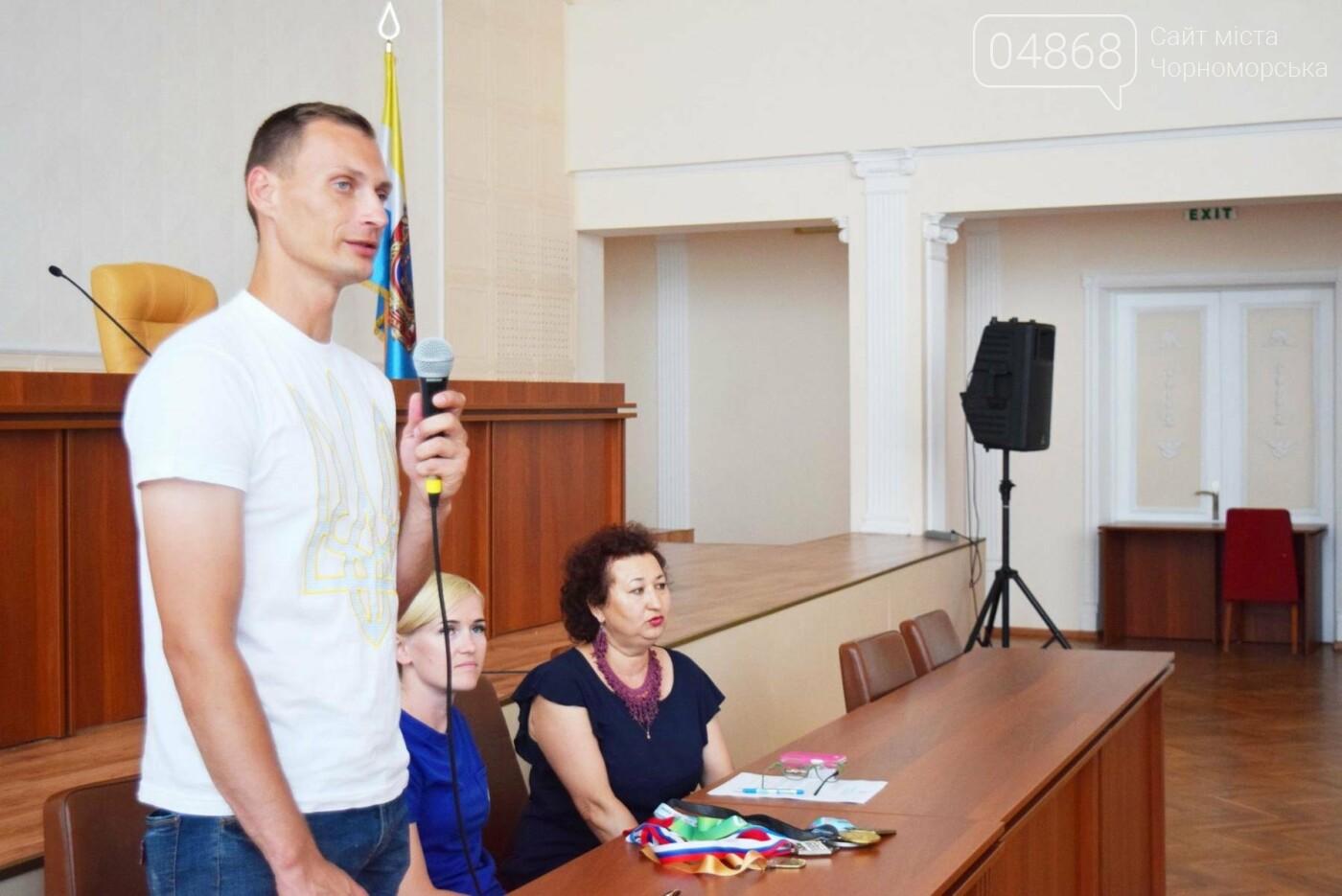 Школа лидеров в гостях у спортсменов Черноморска, фото-3