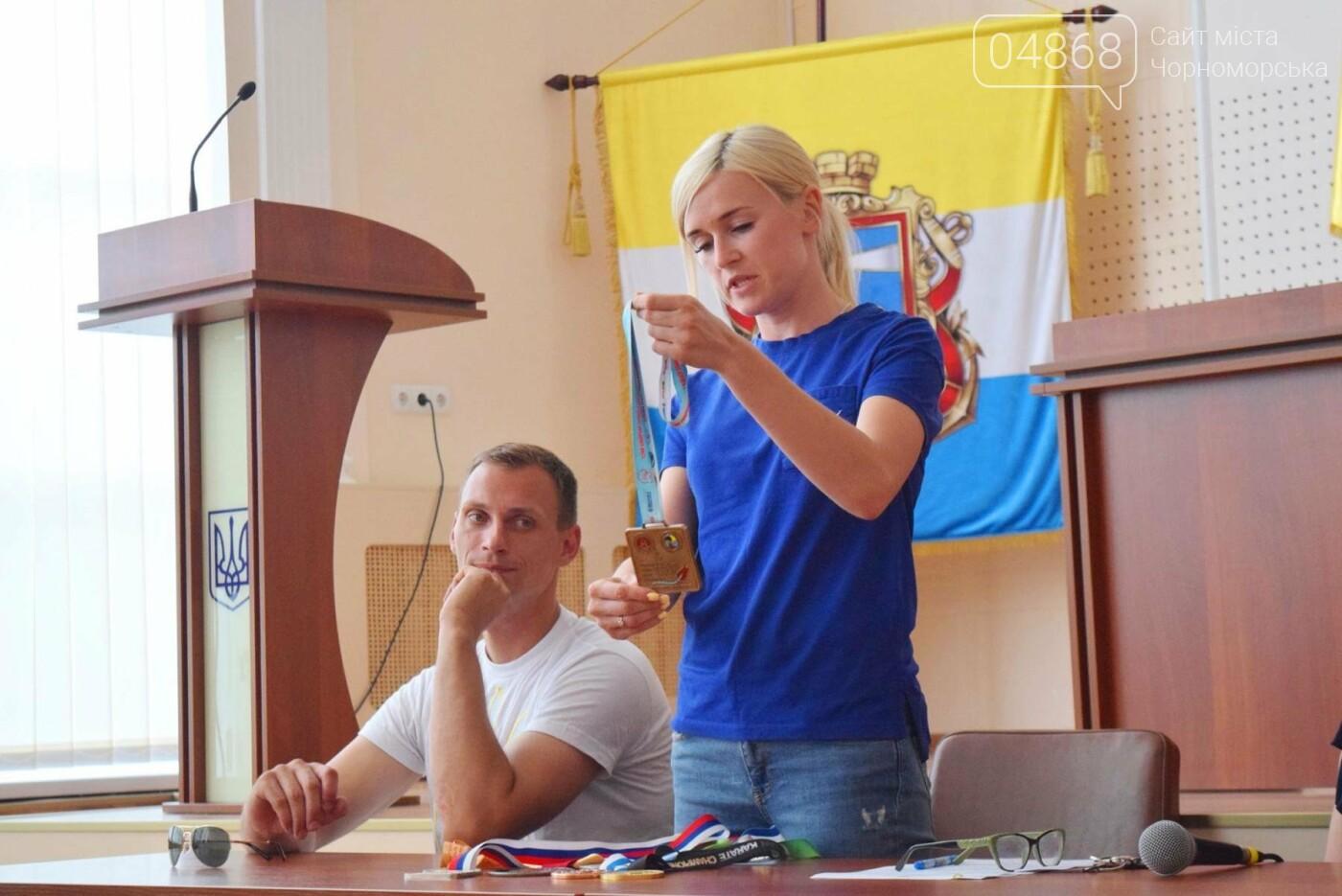 Школа лидеров в гостях у спортсменов Черноморска, фото-4