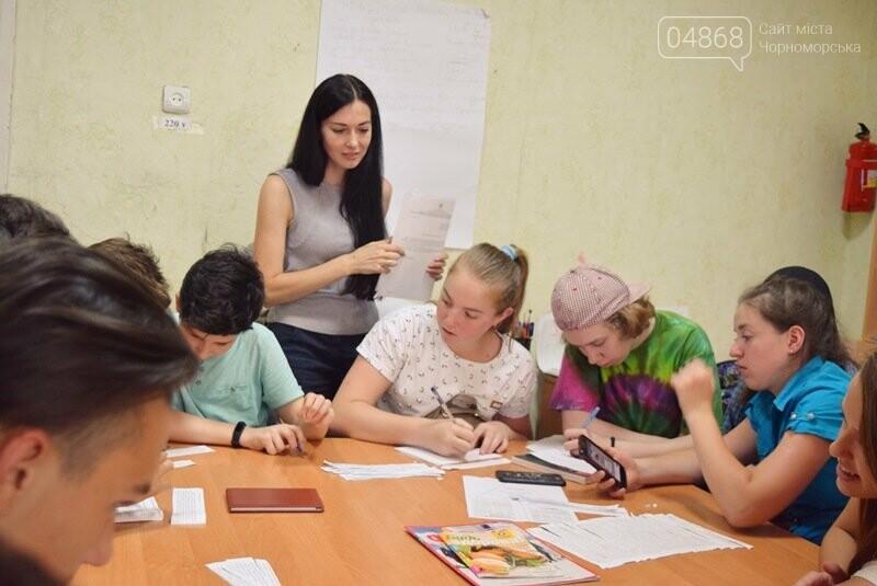Журналисты СМИ Черноморска встретились с юными лидерами города и ответили на непростые вопросы, фото-5
