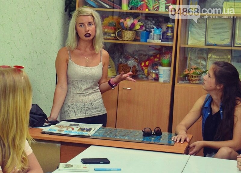 Журналисты СМИ Черноморска встретились с юными лидерами города и ответили на непростые вопросы, фото-2