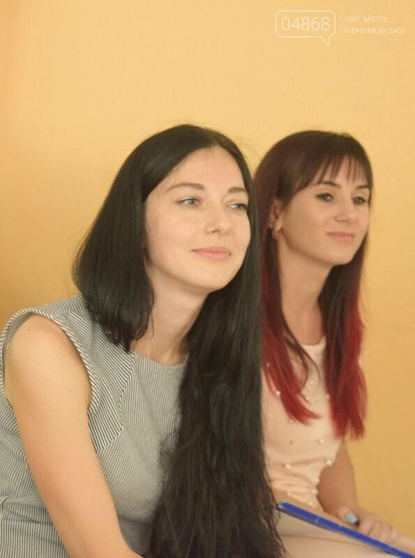 Журналисты СМИ Черноморска встретились с юными лидерами города и ответили на непростые вопросы, фото-1