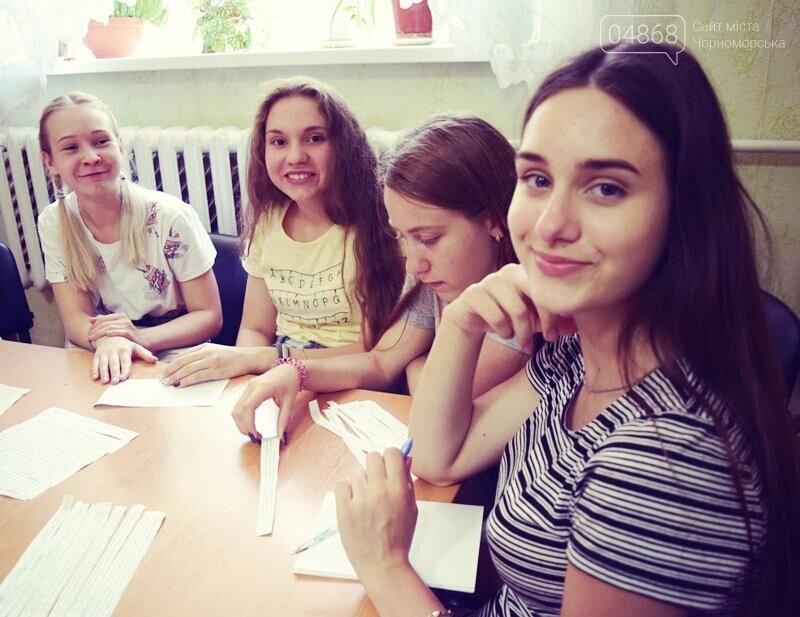 Журналисты СМИ Черноморска встретились с юными лидерами города и ответили на непростые вопросы, фото-6