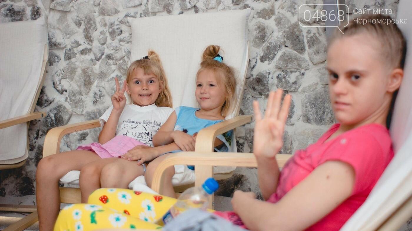 Воспитанники «Радуги» посетили соляную комнату в Черноморске, фото-9