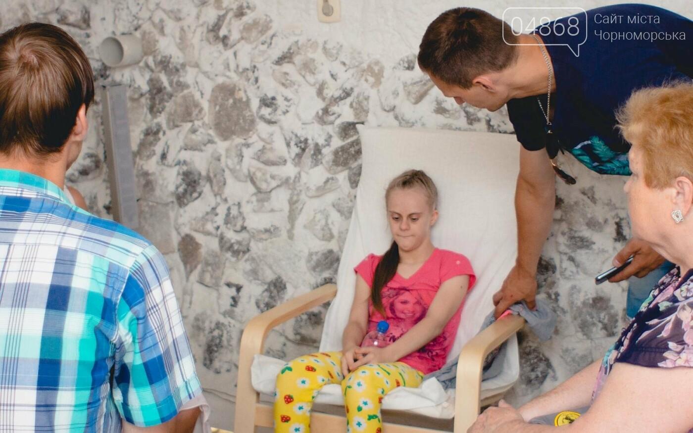 Воспитанники «Радуги» посетили соляную комнату в Черноморске, фото-5