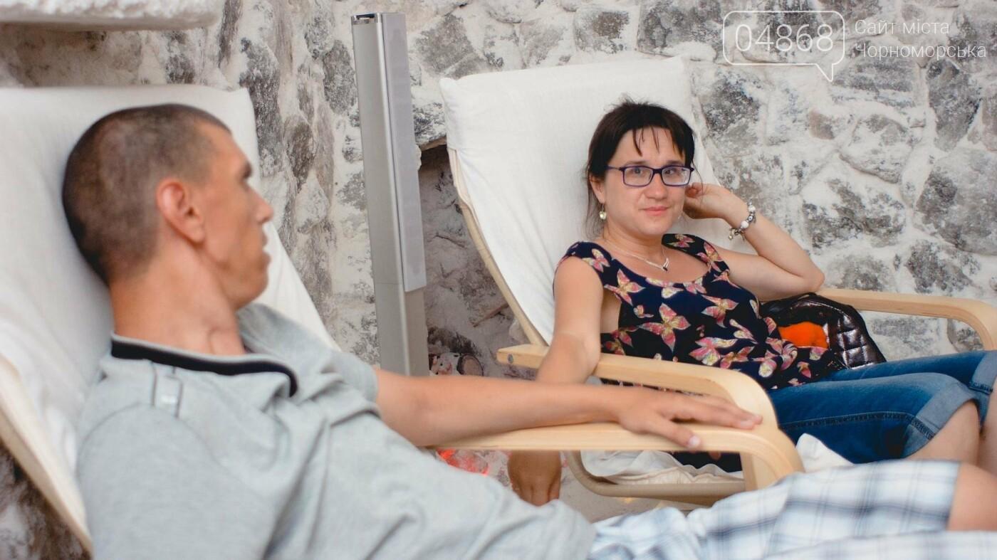 Воспитанники «Радуги» посетили соляную комнату в Черноморске, фото-13