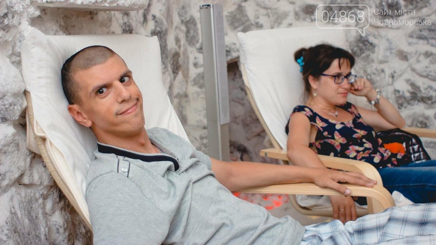 Воспитанники «Радуги» посетили соляную комнату в Черноморске, фото-11