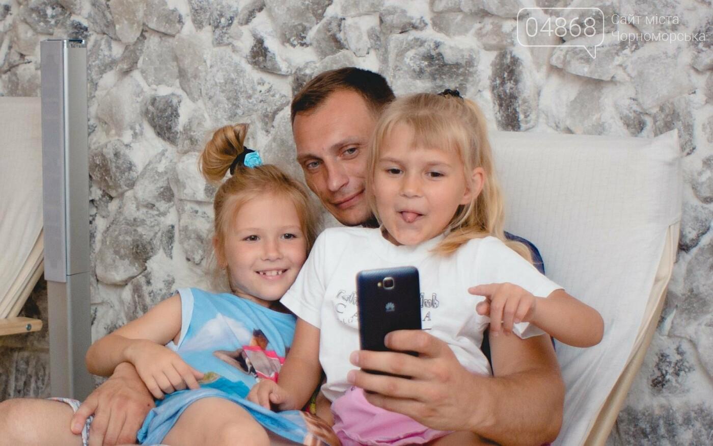 Воспитанники «Радуги» посетили соляную комнату в Черноморске, фото-14