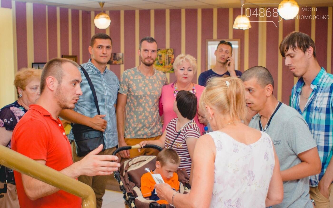 Воспитанники «Радуги» посетили соляную комнату в Черноморске, фото-16