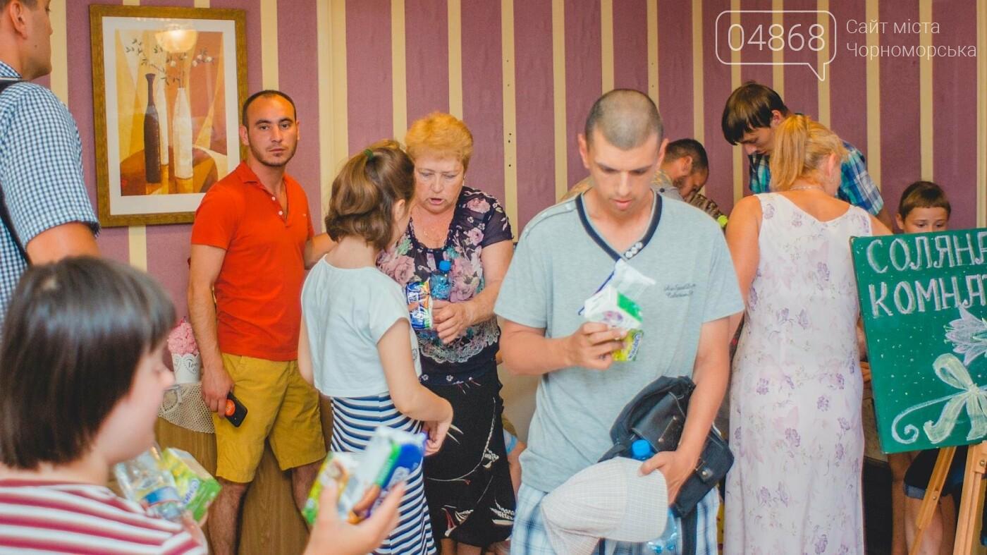 Воспитанники «Радуги» посетили соляную комнату в Черноморске, фото-15
